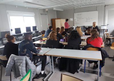 Intervention au lycée R.DOISNEAU MCE-GESS 2018